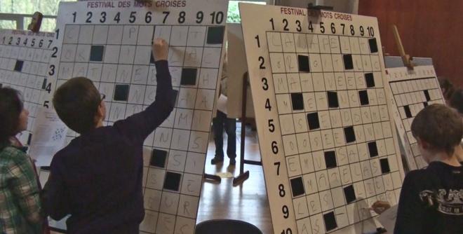 Un match du tournoi des collèges 2012 à Eu