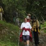Sur le chemin du lac de Flaine