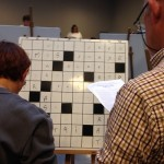 Corinne Bertrand et Georges Flambard : quarts-de-finalistes du tournoi principal par paires